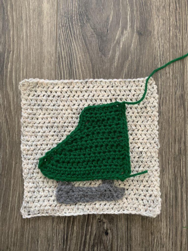 winter wonder crochet square