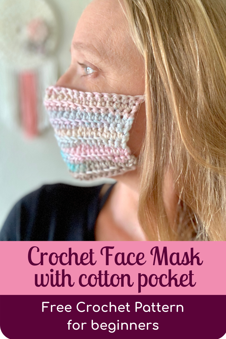 face mask crochet pattern for beginners
