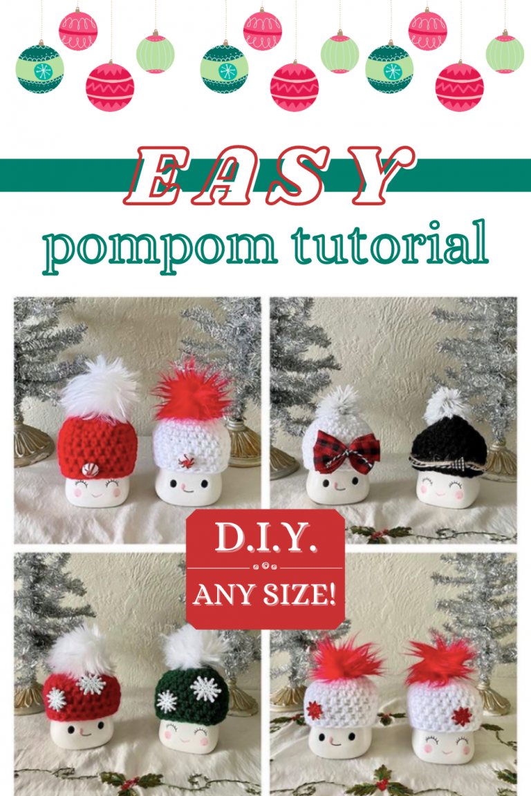 easy pompom tutorial