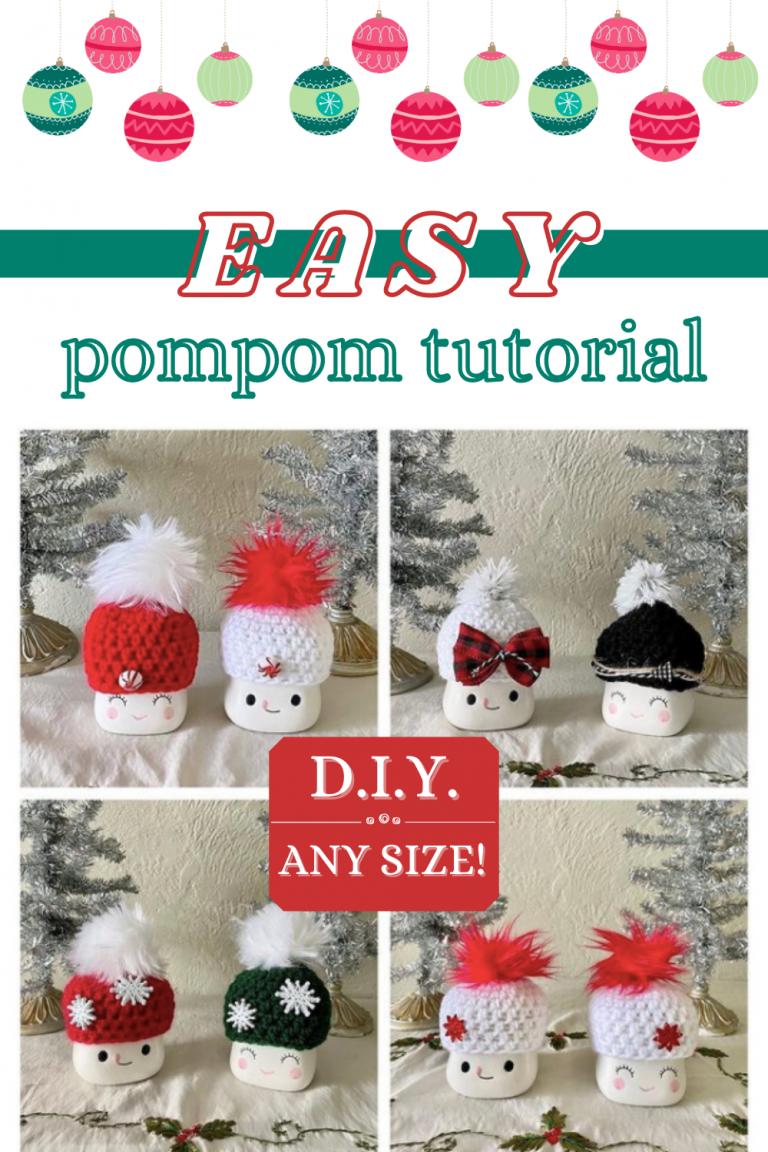 easy pompom tutorial