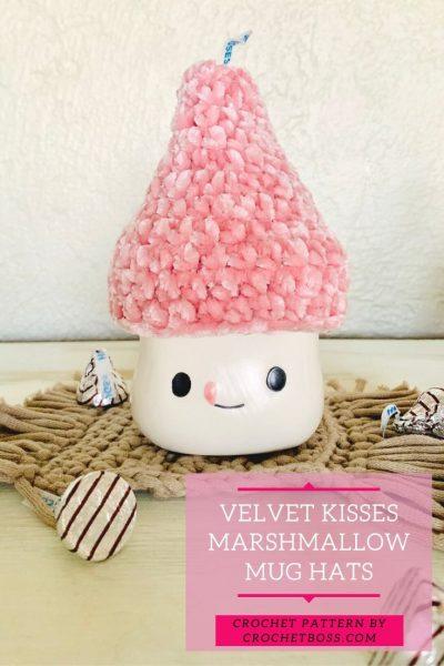 valentines marshmallow mug hat